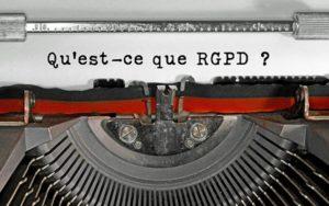 Qu'est ce que la RGPD