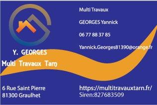 carte de visite bâtiment