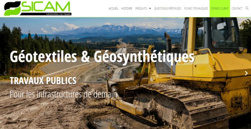 SICAM géotextiles et géosynthétiques